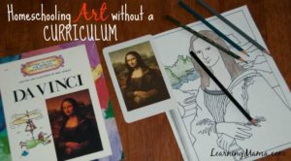 Homeschooling Art Without a Curriculum