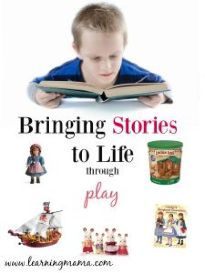 Book Themed Gift Ideas for Bringing Stories to Life through Play #homeschool #giftideas #christmas