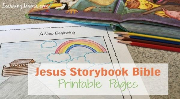 Jesus Storybook Bible Printable Pages