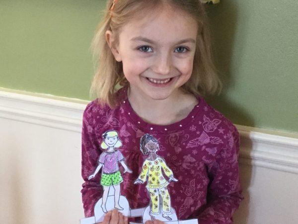 Enjoy your laminated paper dolls!