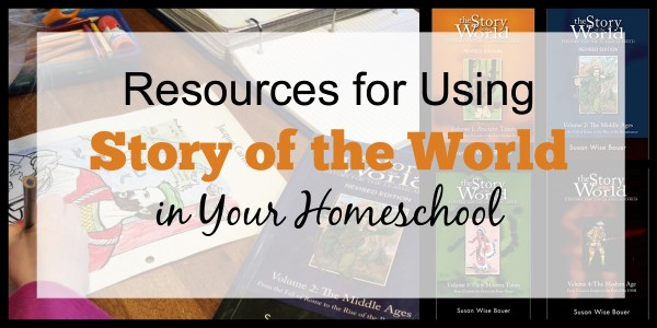The Ultimate Guide to Using Story of the World in Your Homeschool - exhaustive list of resources for SOTW booklists, lapbooks, timelines, notebooking, and more!
