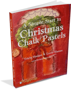 A Christmas Start in Chalk Pastels
