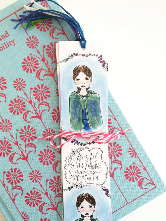 Literary bookmarks make ideal gifts for book lovers!