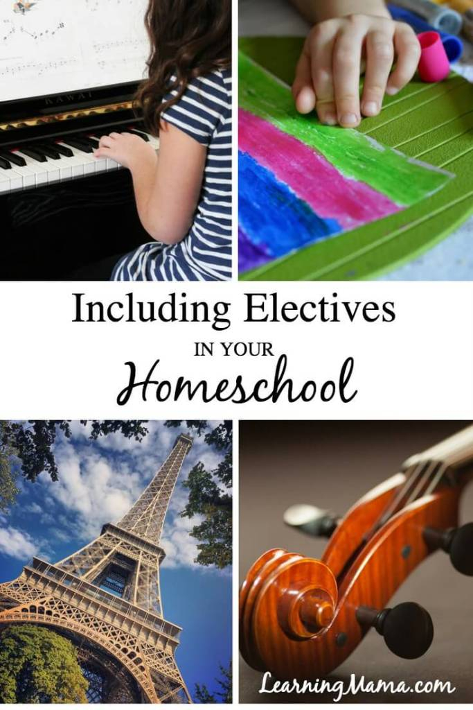 Including Electives in Your Homeschool for a Well Rounded Education. Looking for easy ways to include art, music, and foreign language in your homeschool curriculum without breaking the bank? Homeschool Buyer's Co-op has you covered!