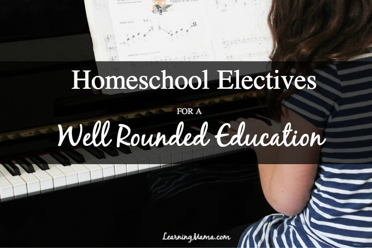 Including Electives in Your Homeschool Curriculum for a Well Rounded Education