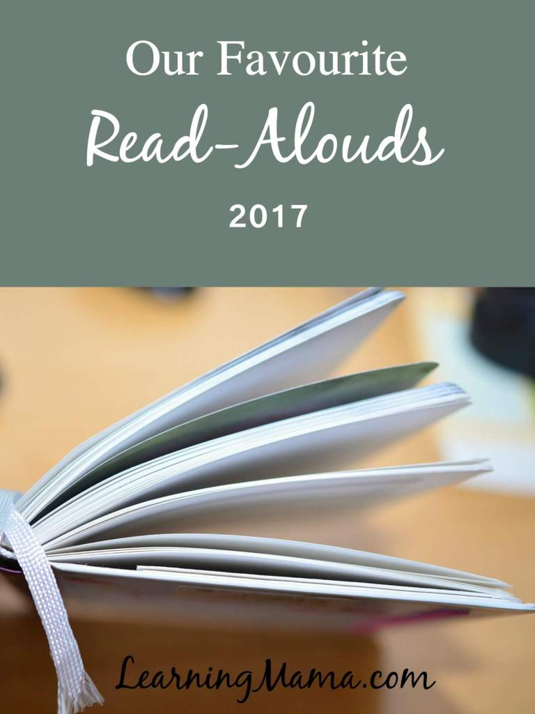 Our Favourite Read-Alouds of 2017