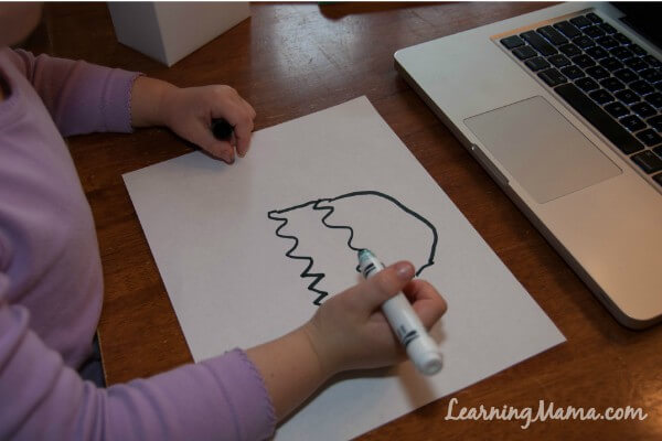 Step-by-step drawing lessons are included in your Masterpiece Society Studio membership, so there is something for even your littlest learners!