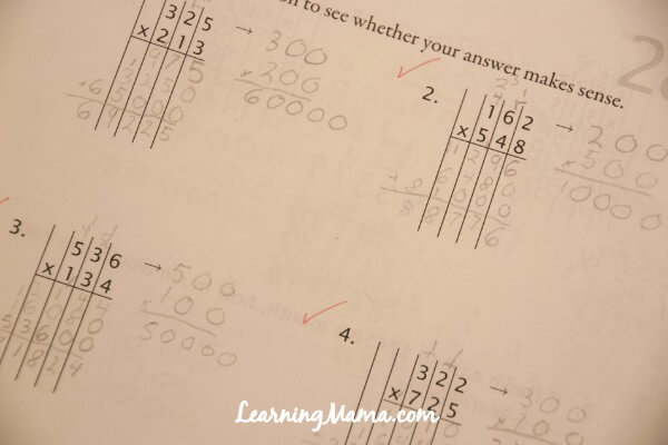 Math-U-See Worksheet