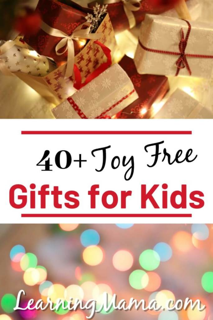 Toy-Free Gifts for Kids