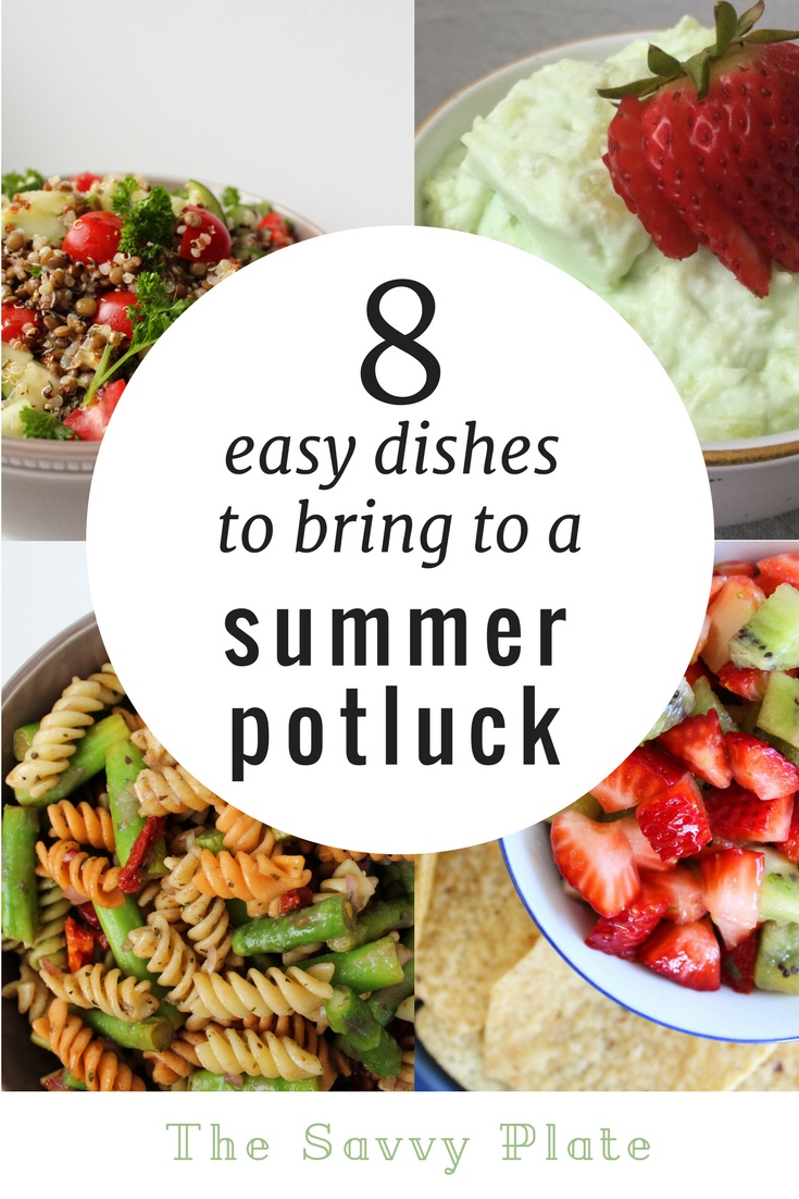 8 Easy Dishes to Bring to a Summer Potluck