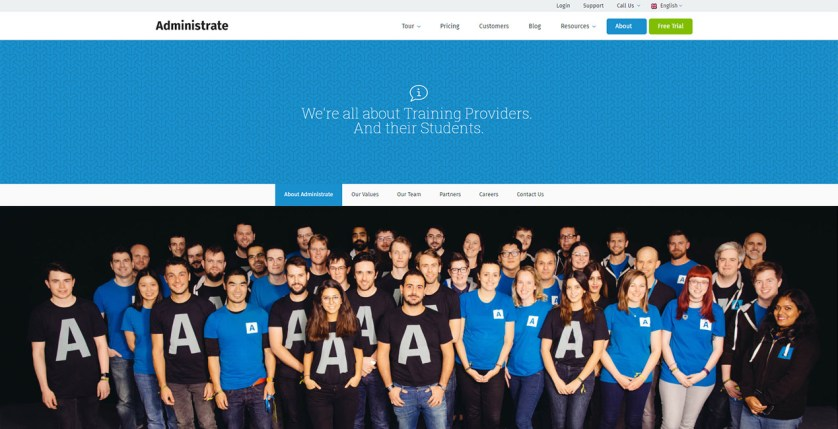 Administrate LMS About