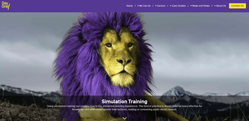 Day One simulation based training solutions