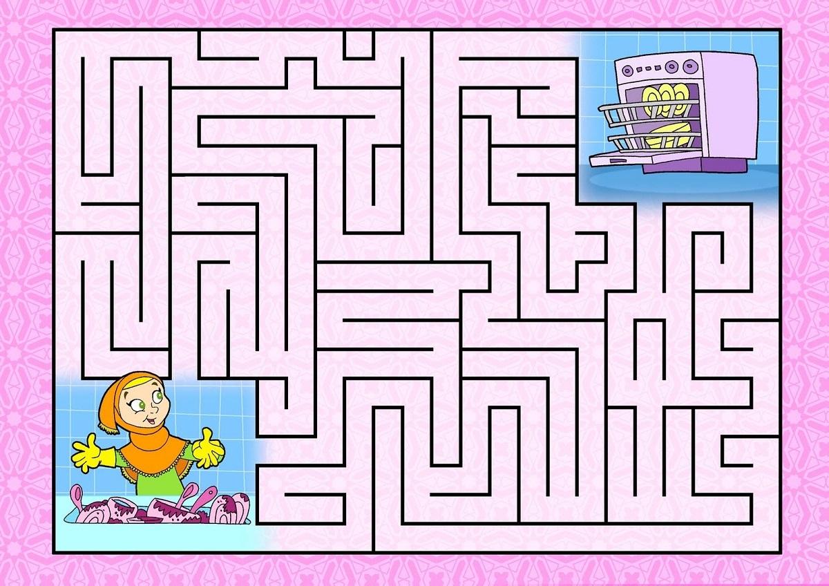 Kid Maze Worksheets To Print