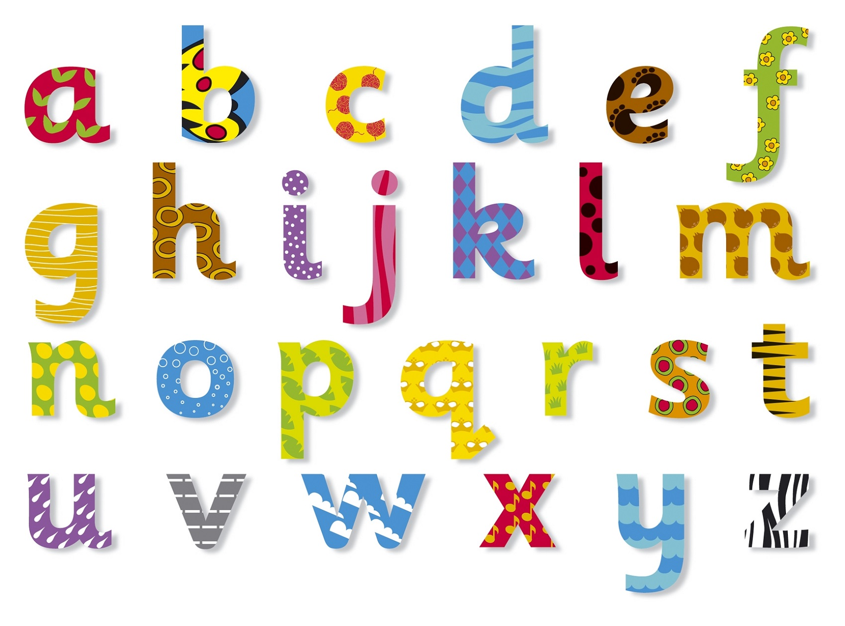 Lowercase Alphabet