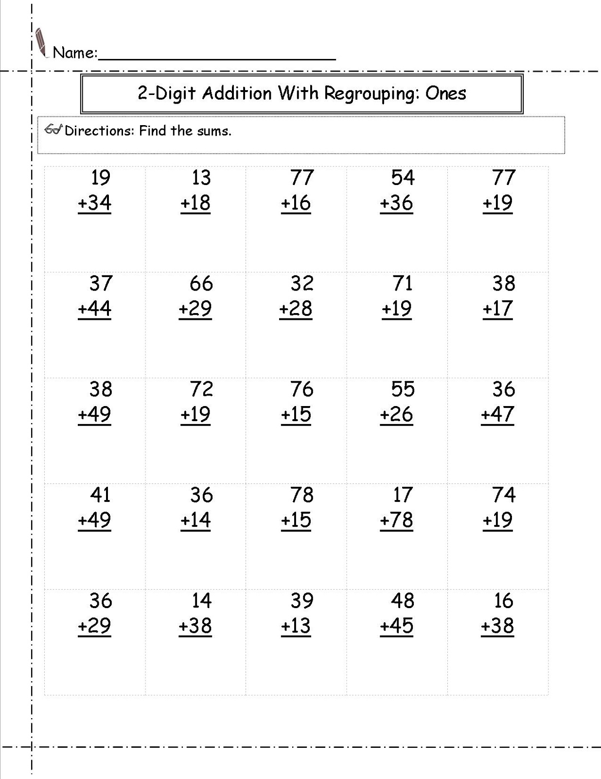 2nd Grade Math Worksheets To Print
