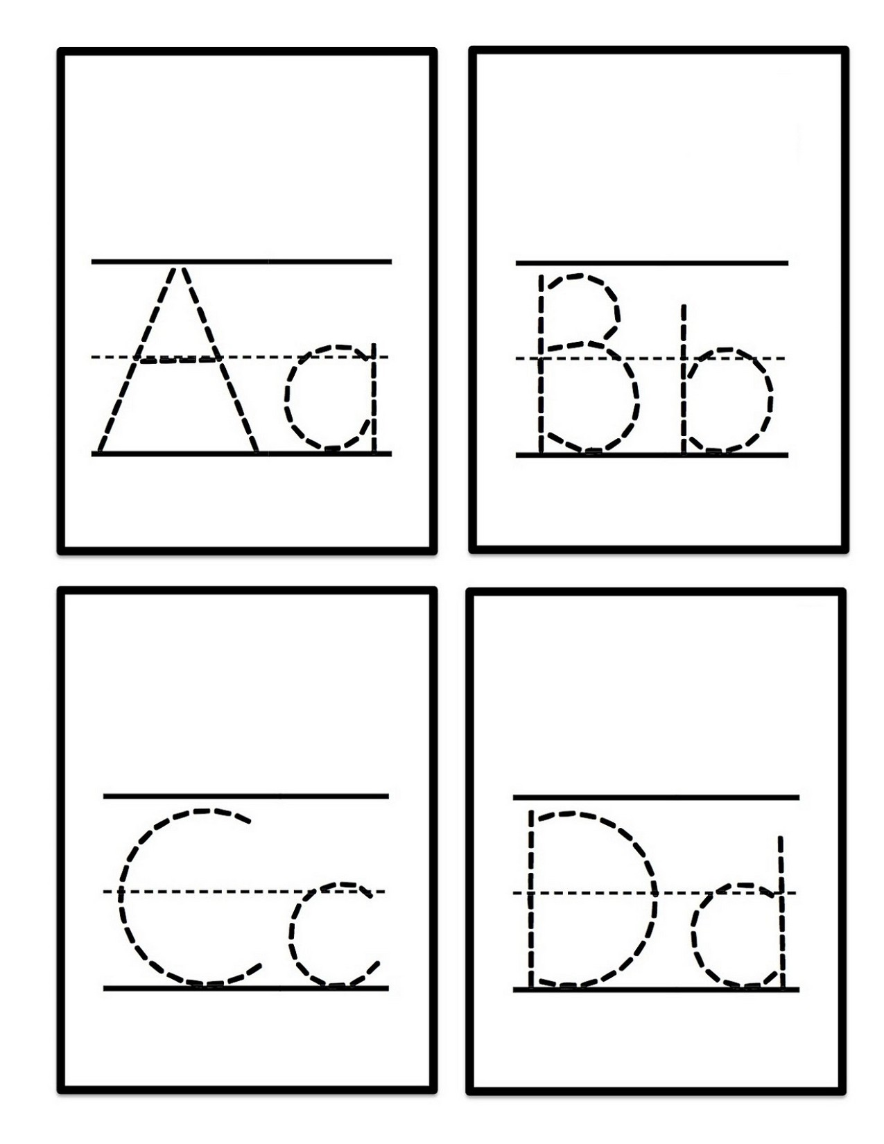 Upper And Lowercase D Worksheet