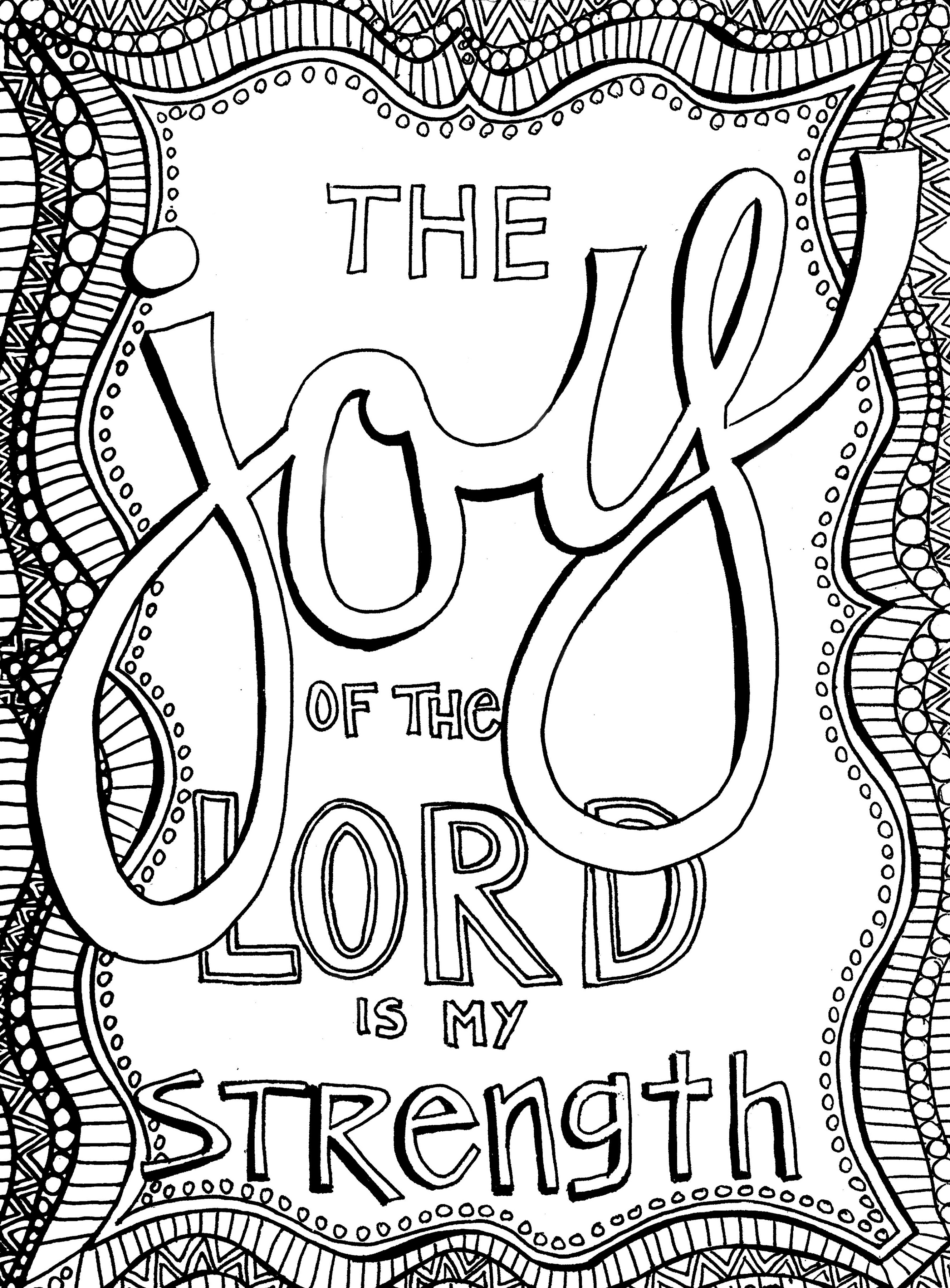 Christian Coloring Pages For Adults Learning Printable