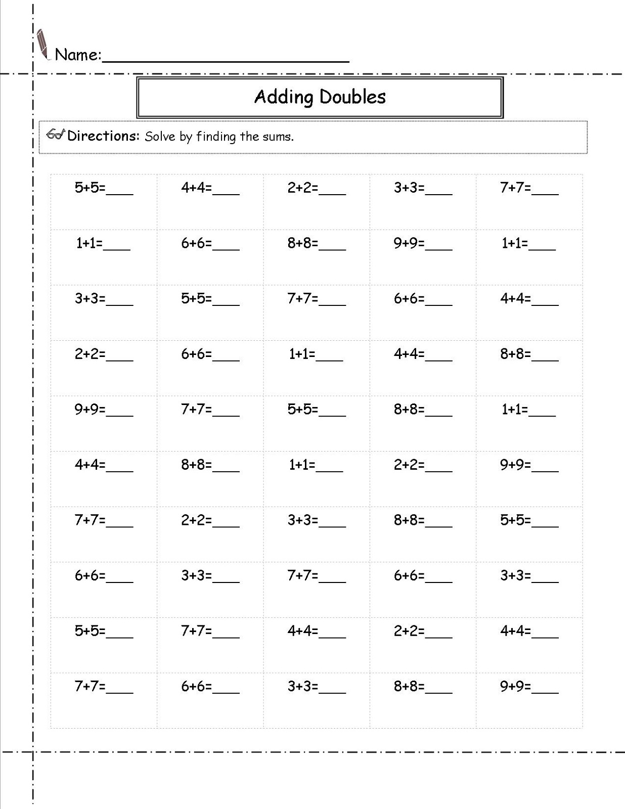 2nd Grade Worksheet