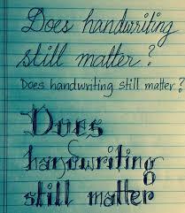 Handwriting matters | David Didau: The Learning Spy