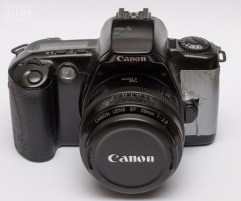Canon EOS 500 - with optional duct tape and 28mm lens
