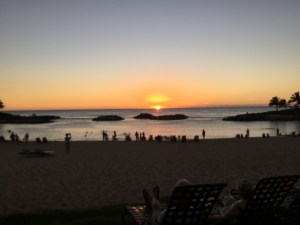 Hawaiian Sunset, Hawaii