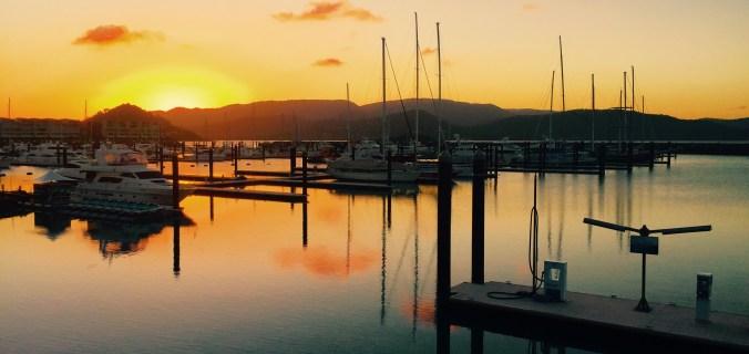 Sunset at Whitsunday Island