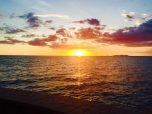Sunset in Whitsunday Islands- Australia