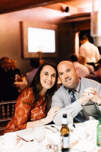 The Husband and I at a Wedding