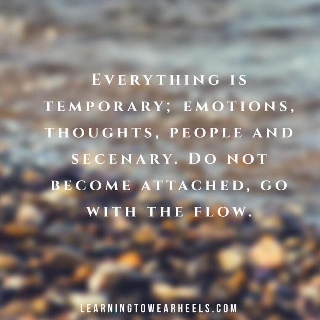 Everything is temporary Everything is temporary This weeks mantra Wehellip