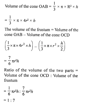 RD Sharma Class 10 Solutions Chapter 14 Surface Areas and VolumesEx 14.3 29