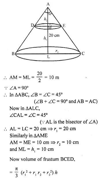 RD Sharma Class 10 Solutions Chapter 14 Surface Areas and VolumesEx 14.3 33