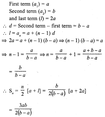RD Sharma Class 10 Solutions Chapter 5 Arithmetic Progressions MCQS 14