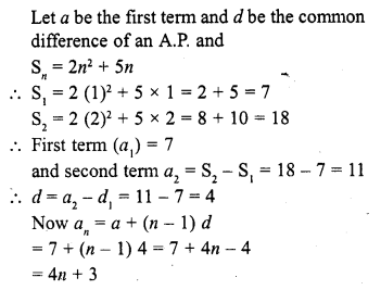RD Sharma Class 10 Solutions Chapter 5 Arithmetic Progressions MCQS 5