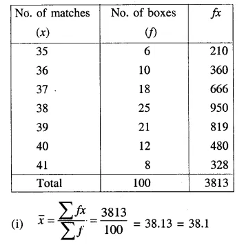 Selina Concise Mathematics Class 10 ICSE Solutions Chapter 24 Measures of Central Tendency Ex 24A Q11.2