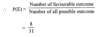 Selina Concise Mathematics Class 10 ICSE Solutions Chapter 25 Probability Ex 25A Q15.4
