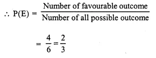 Selina Concise Mathematics Class 10 ICSE Solutions Chapter 25 Probability Ex 25A Q3.2