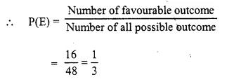 Selina Concise Mathematics Class 10 ICSE Solutions Chapter 25 Probability Ex 25B Q11.2