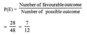 Selina Concise Mathematics Class 10 ICSE Solutions Chapter 25 Probability Ex 25B Q11.3