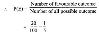 Selina Concise Mathematics Class 10 ICSE Solutions Chapter 25 Probability Ex 25B Q2.1