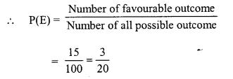 Selina Concise Mathematics Class 10 ICSE Solutions Chapter 25 Probability Ex 25B Q2.4