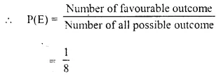 Selina Concise Mathematics Class 10 ICSE Solutions Chapter 25 Probability Ex 25C Q1.1