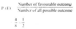 Selina Concise Mathematics Class 10 ICSE Solutions Chapter 25 Probability Ex 25C Q1.4