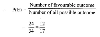 Selina Concise Mathematics Class 10 ICSE Solutions Chapter 25 Probability Ex 25C Q16.3