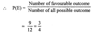 Selina Concise Mathematics Class 10 ICSE Solutions Chapter 25 Probability Ex 25C Q18.6