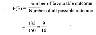 Selina Concise Mathematics Class 10 ICSE Solutions Chapter 25 Probability Ex 25C Q22.1
