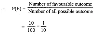Selina Concise Mathematics Class 10 ICSE Solutions Chapter 25 Probability Ex 25C Q24.1