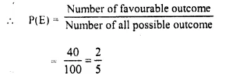 Selina Concise Mathematics Class 10 ICSE Solutions Chapter 25 Probability Ex 25C Q24.4