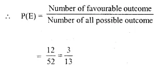 Selina Concise Mathematics Class 10 ICSE Solutions Chapter 25 Probability Ex 25C Q3.1.