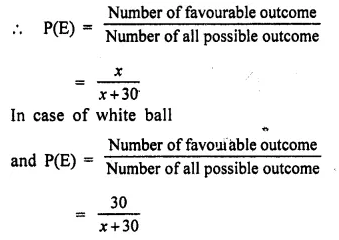 Selina Concise Mathematics Class 10 ICSE Solutions Chapter 25 Probability Ex 25C Q31.1