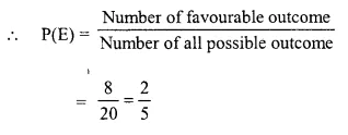Selina Concise Mathematics Class 10 ICSE Solutions Chapter 25 Probability Ex 25C Q7.2